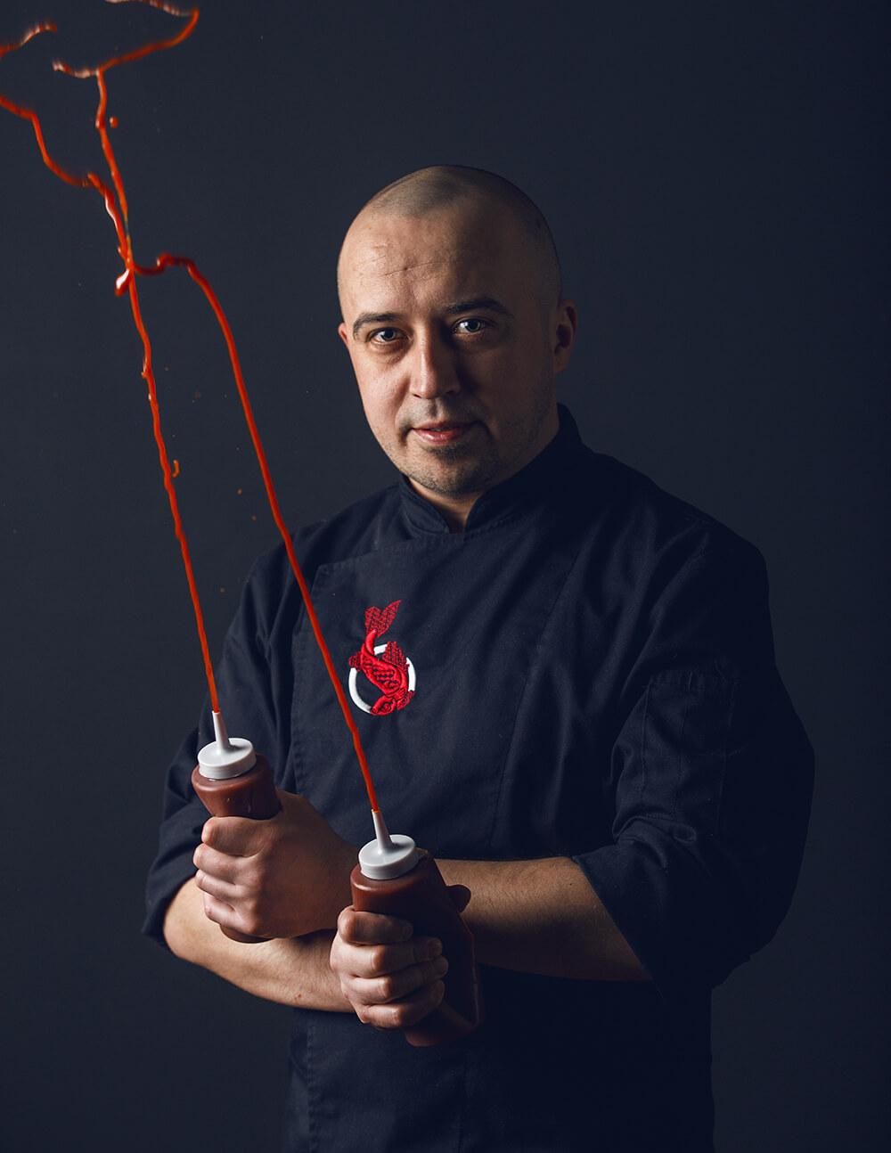 Szajnochy11 - Sushi Bar - Wojciech Pawlak